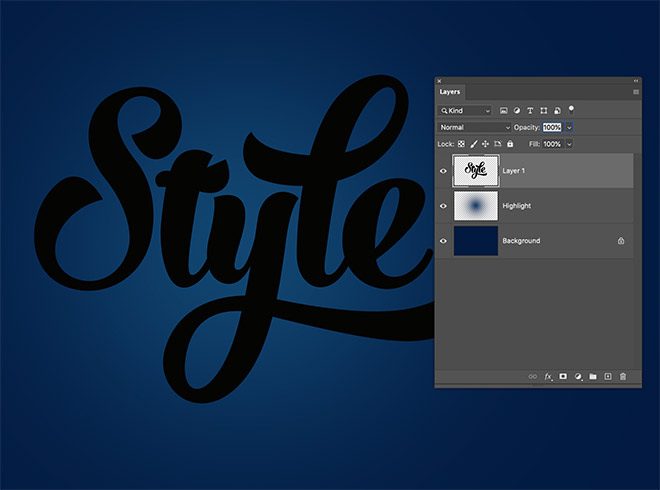 """2 - How to Create 3D Text Effects in Photoshop with the """"Transform Again"""" Technique"""