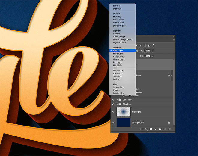 """23 - How to Create 3D Text Effects in Photoshop with the """"Transform Again"""" Technique"""