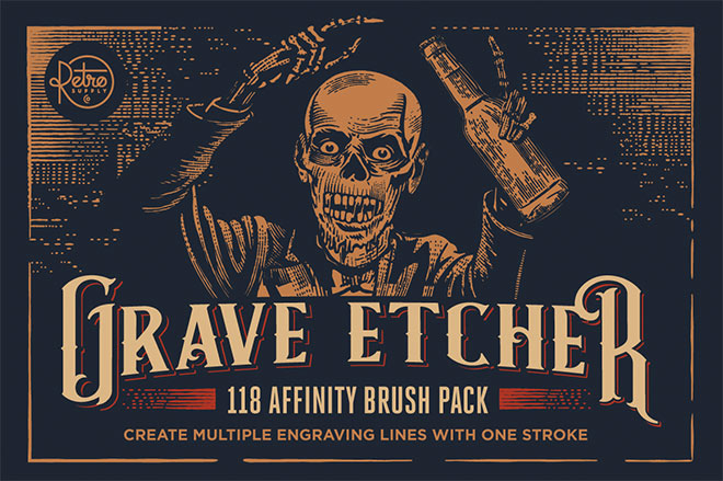Grave Etcher For Affinity ($29)