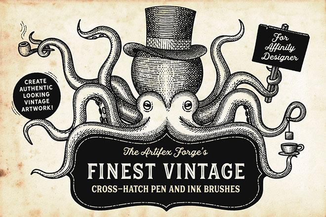Finest vintage affinity brushes ($ 19)