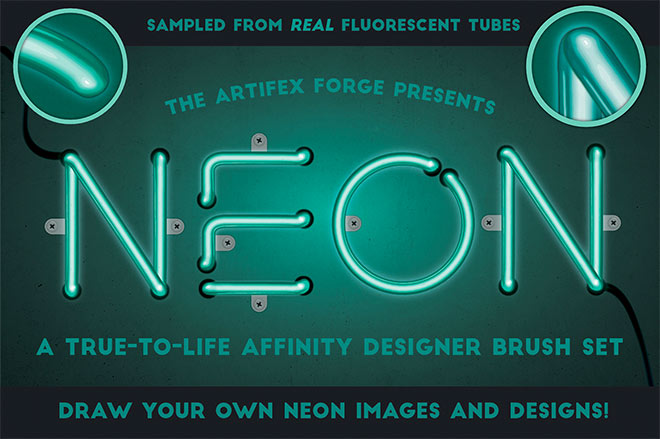 Neon affinity brushes ($ 16)