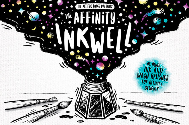 The Affinity Inkwell Brushes ($ 19)