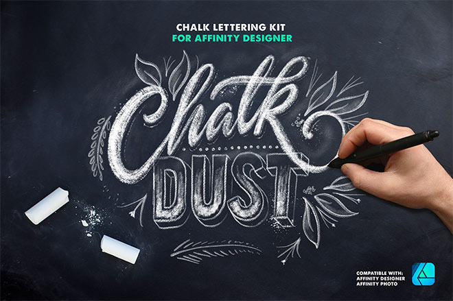 Chalk Dust Brush Kit For Affinity ($19)
