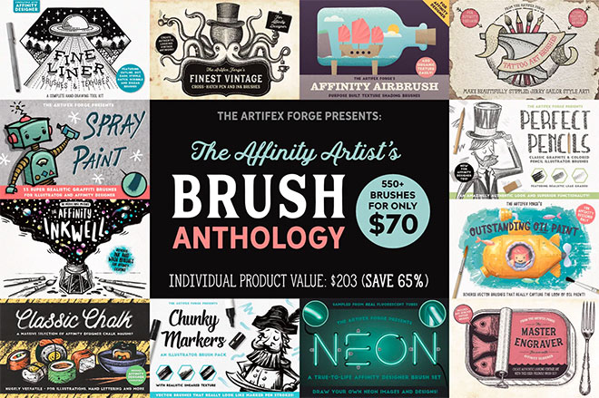 The Affinity Artists Brush Anthology ($70)