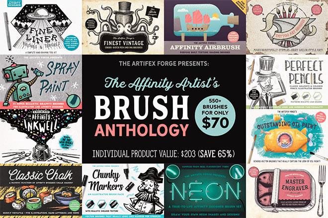 The Affinity Artists Brush Anthology ($ 70)