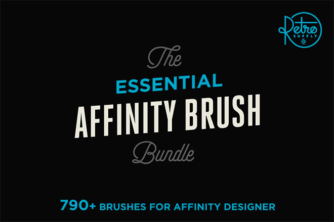 The Essential Affinity Brush Bundle ($97