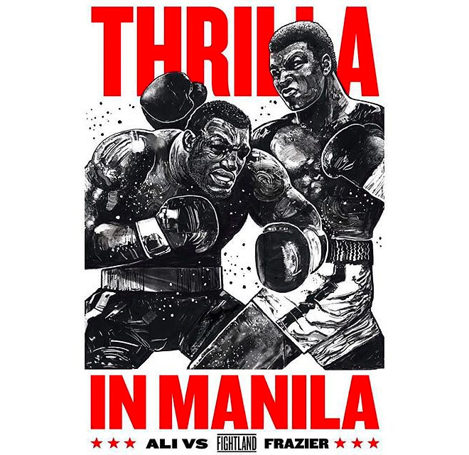 Thrilla in Manila by Gian Galang