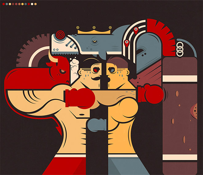 Boxing by Rustam Isaev