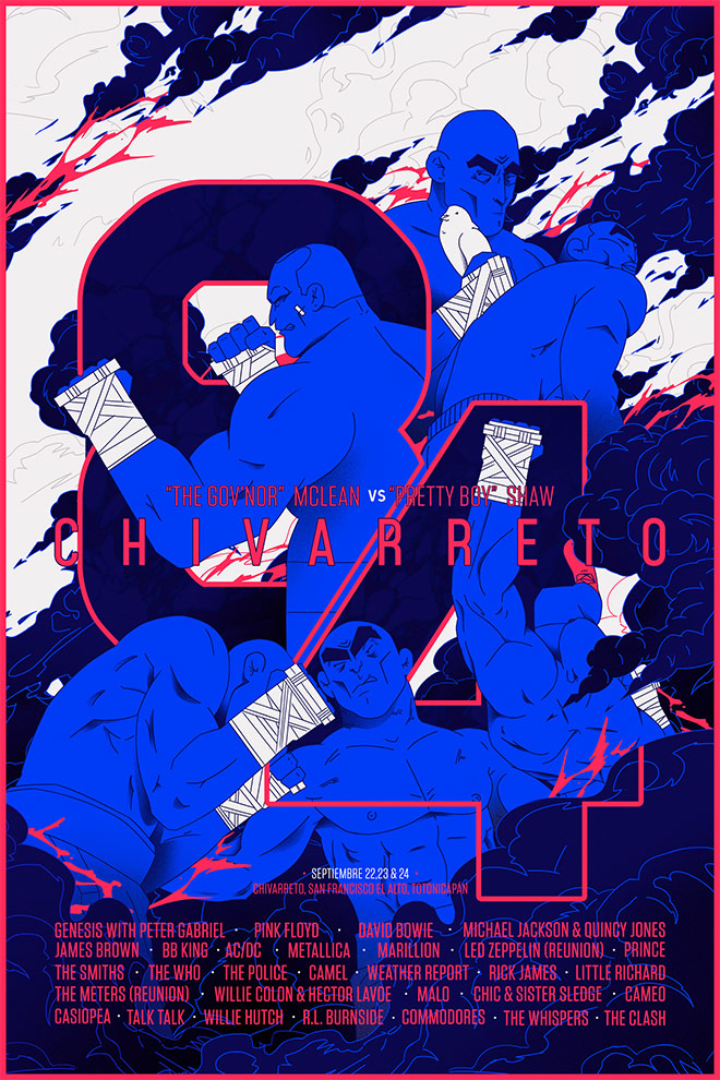 Chivarreto 84 by Luis Roca