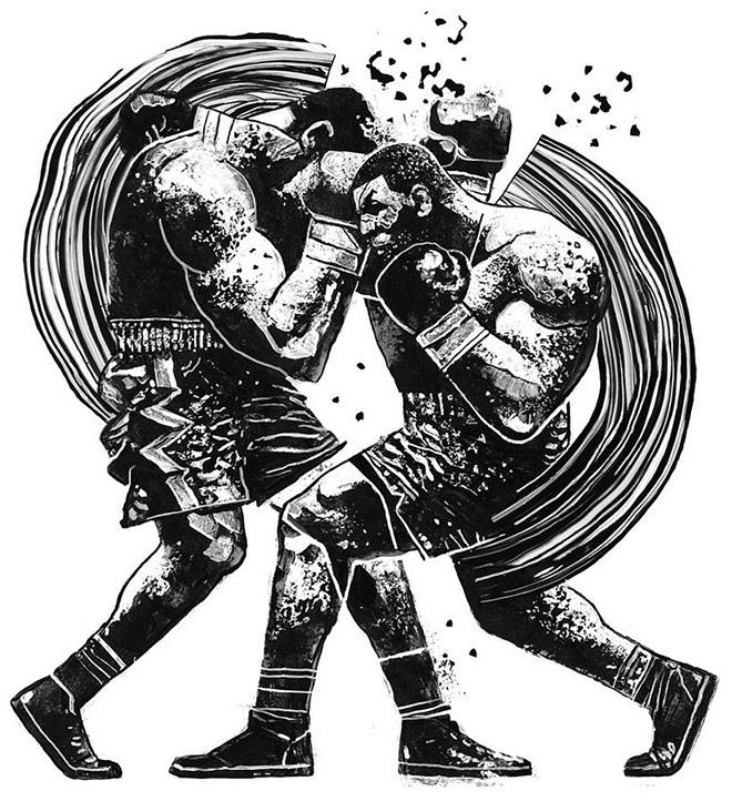 Reebok Combat by Gian Galang
