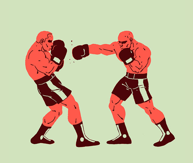 Boxing by Mr Glups