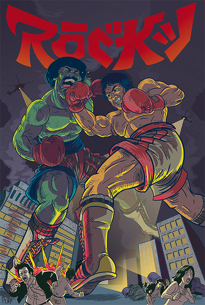 Rocky by Andrew Pena