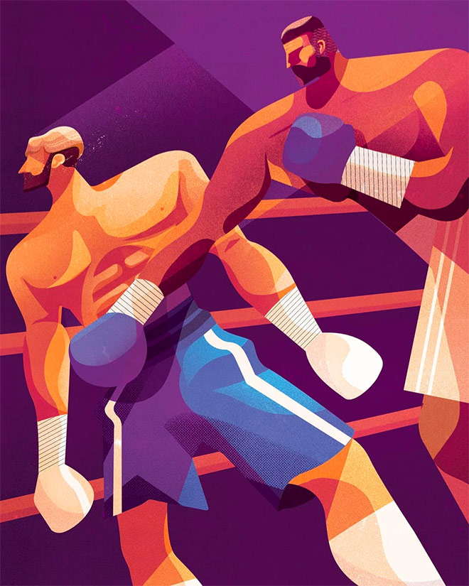Boxers by Charlie Davis Illustrations