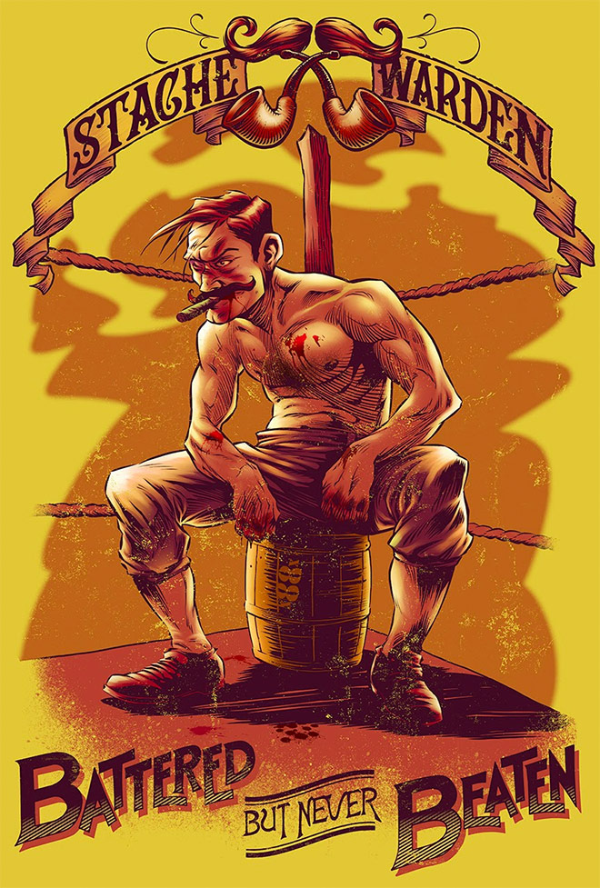 Bare-Knuckle Boxer by Beastpop