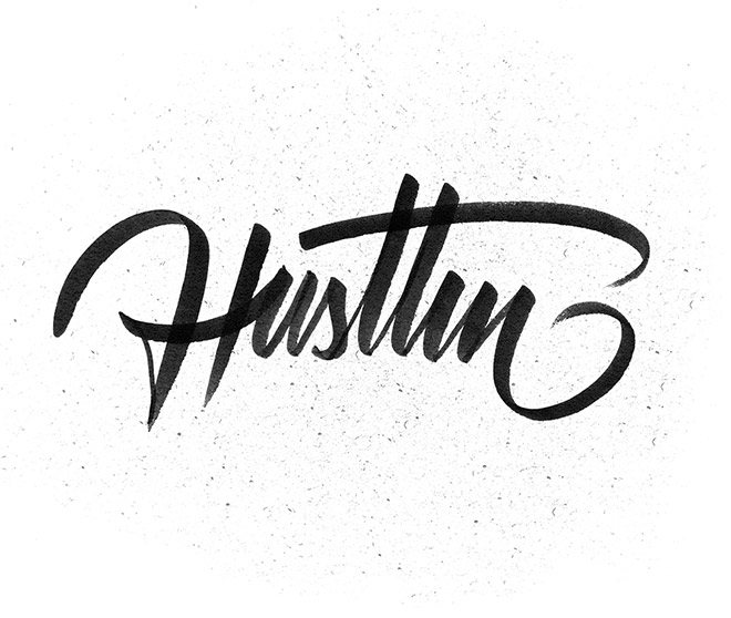 Hustlin by Hey Yet