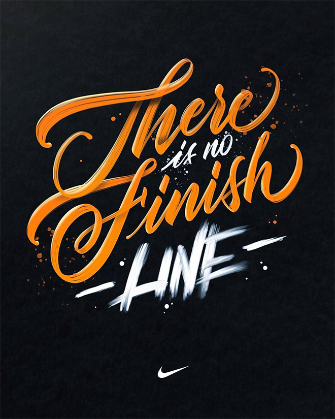 There is No Finish Line by Kobby Mendez