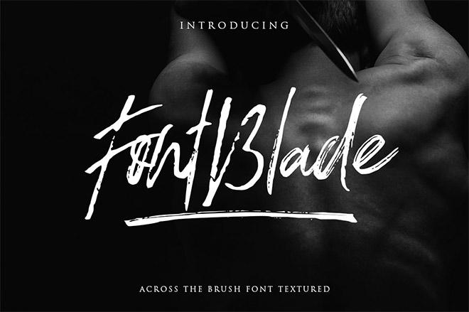 FontBlade Brush Font