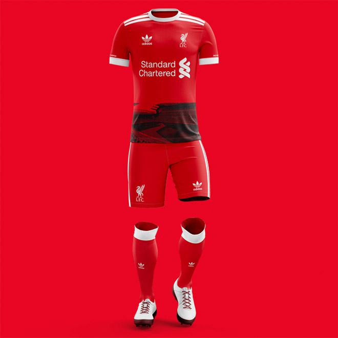 Liverpool FC Concept Kit by Erin Kollqaku
