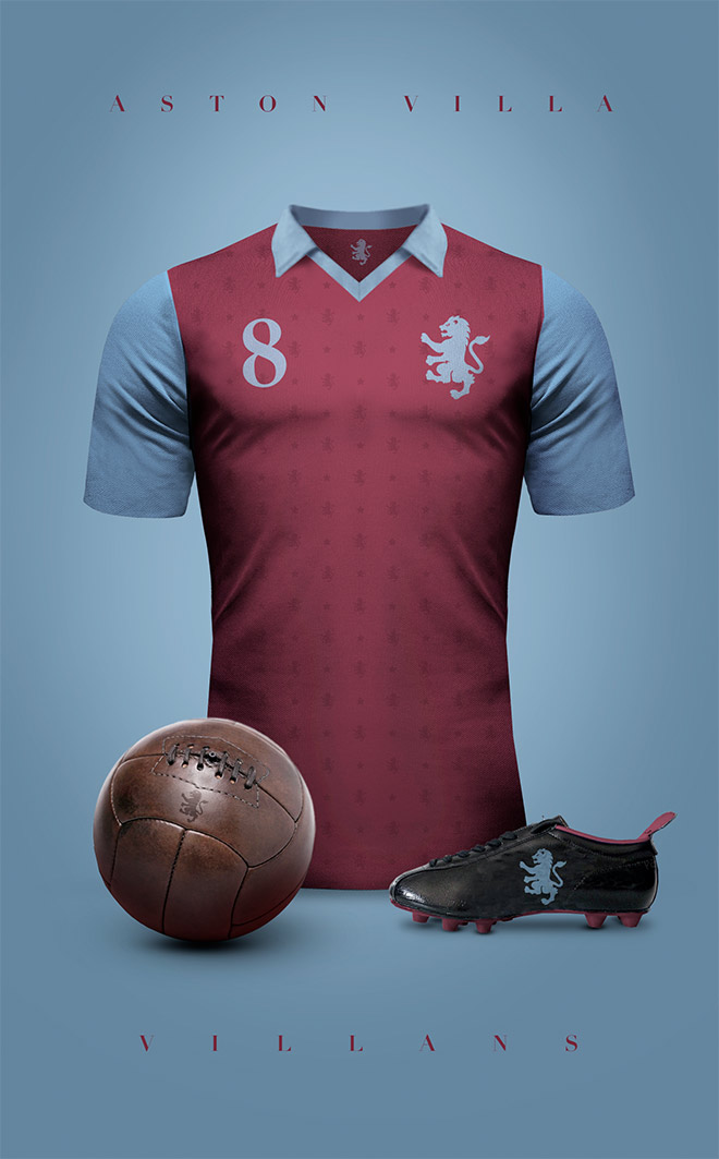 Aston Villa Vintage Club by Emilio Sansolini