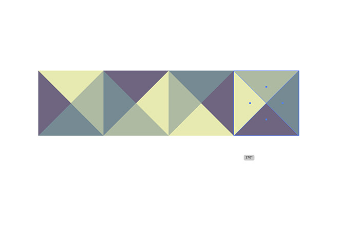 12 - How to Create a Colourful Geometric Pattern in Illustrator