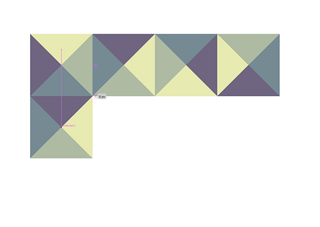 13 - How to Create a Colourful Geometric Pattern in Illustrator