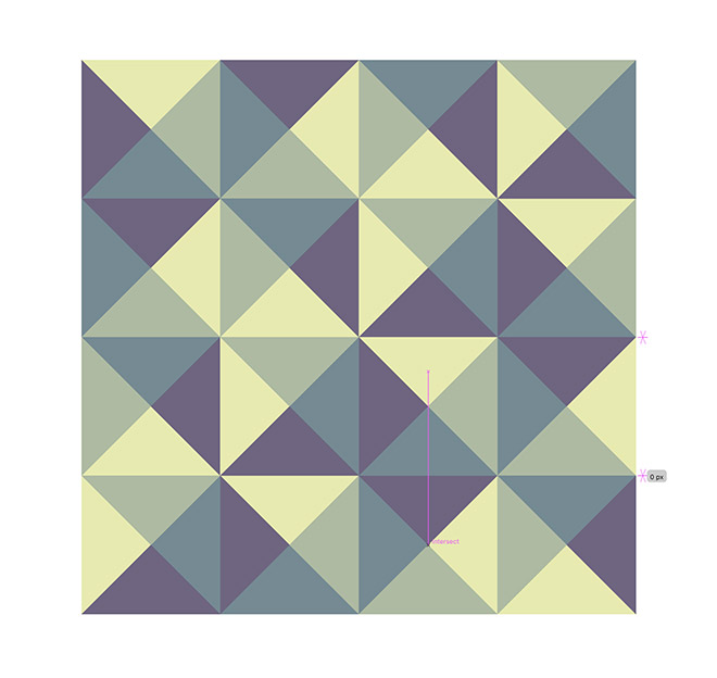 16 - How to Create a Colourful Geometric Pattern in Illustrator