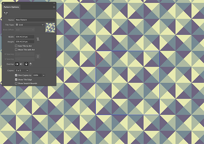 18 - How to Create a Colourful Geometric Pattern in Illustrator