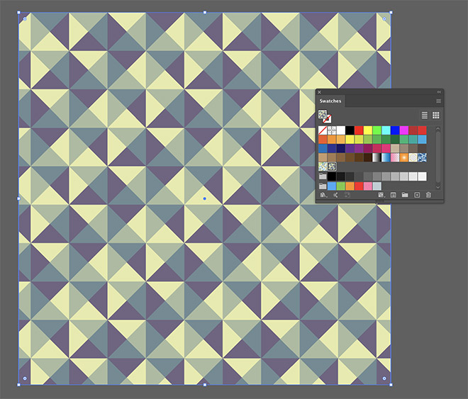 19 - How to Create a Colourful Geometric Pattern in Illustrator