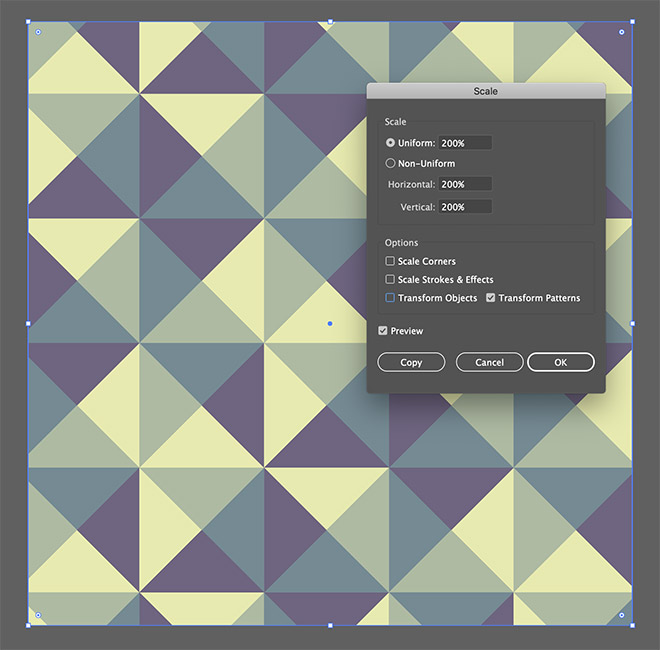 20 - How to Create a Colourful Geometric Pattern in Illustrator