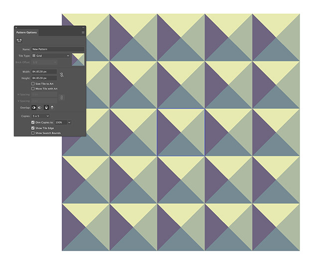 8 - How to Create a Colourful Geometric Pattern in Illustrator