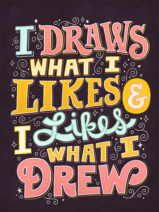 Draws What I Like by Mary Kate McDevitt