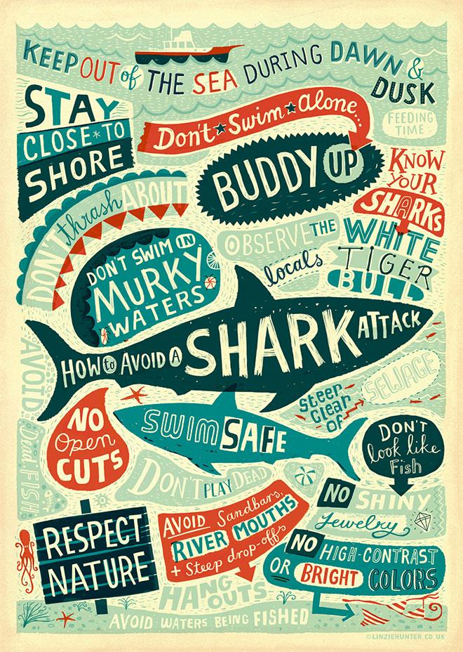 Shark School by Linzie Hunter