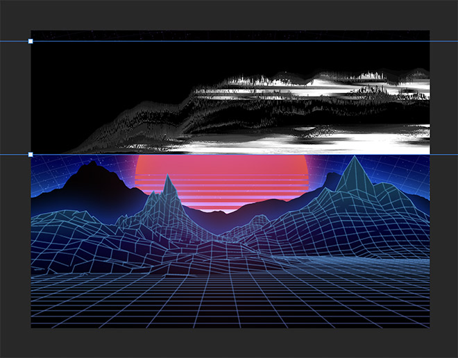 How to Easily Create Retro Landscapes with an 80s Aesthetic 20