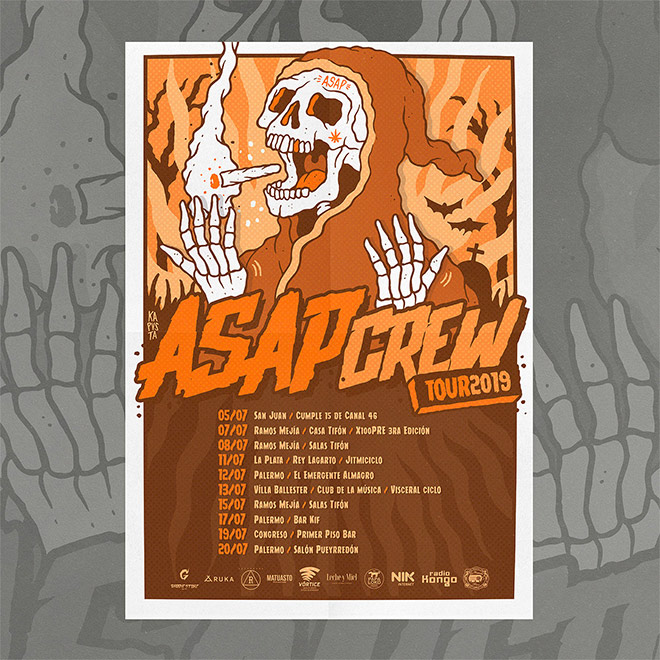 ASAP Crew Tour by KA Pusta