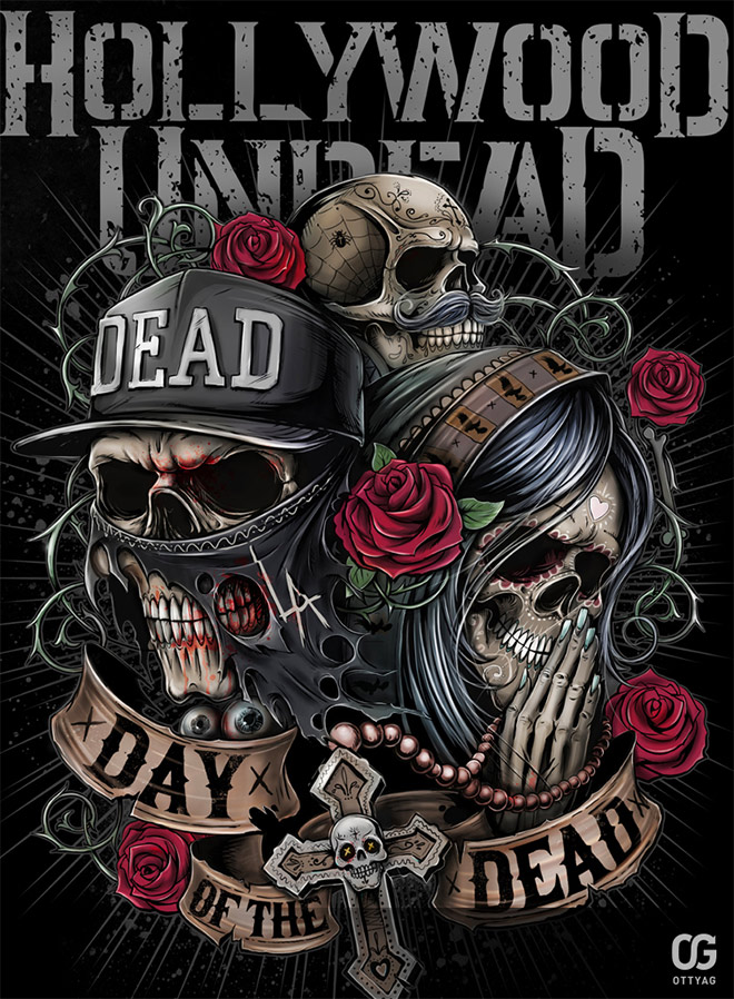 Hollywood Undead by Bakerrrr