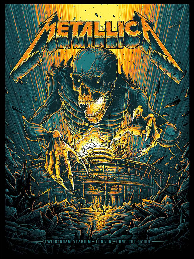 Metallica by Dan Mumford