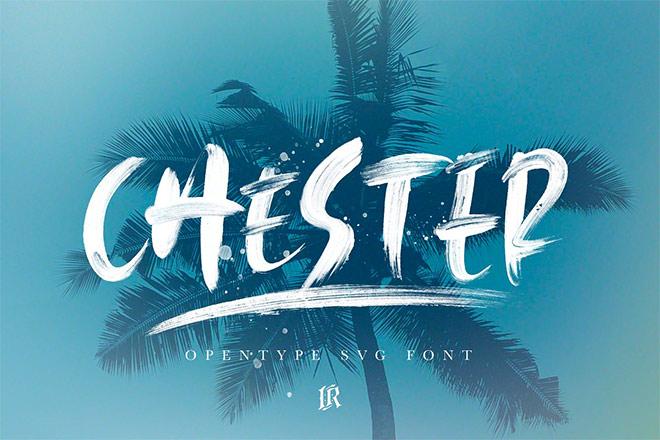 Chester SVG Font by Ivan Rosenberg