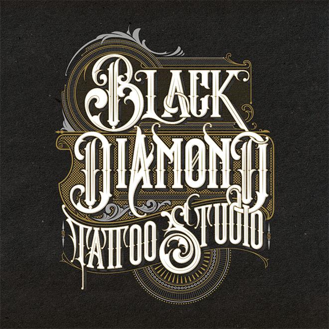 Black Diamond Tattoo Studio by Jorge Aguilar