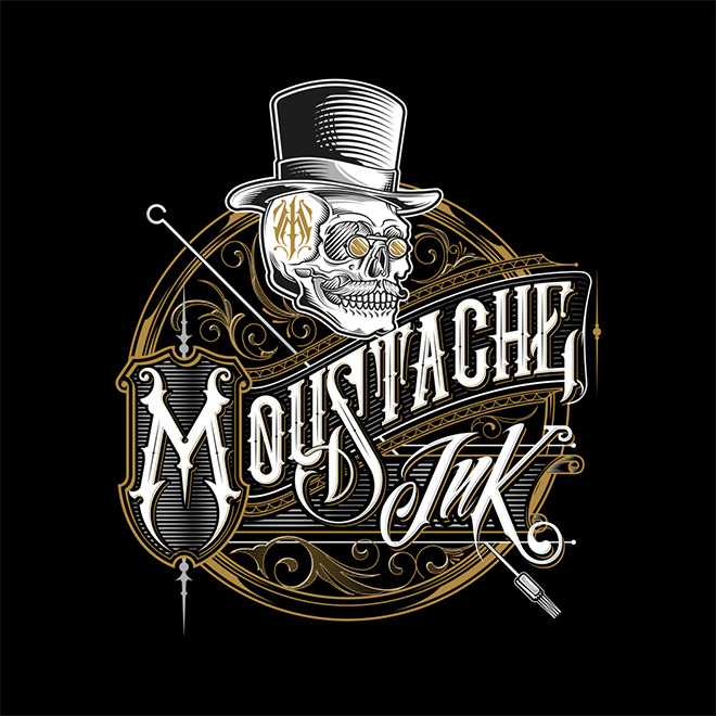 Moustache Ink by Jorge Aguilar