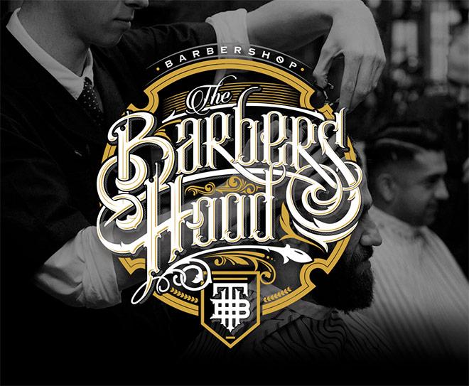 Barbers Hood Logo by Jorge Aguilar