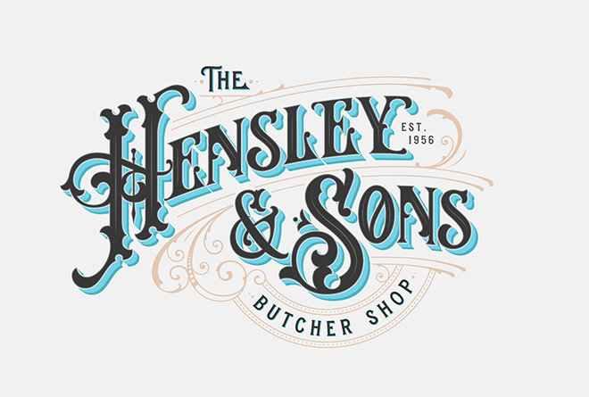 Hensley & Sons Butcher Shop by Tobias Saul