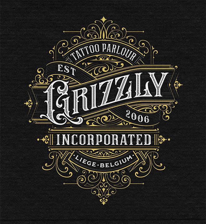 Grizzly Tattoo Parlour by Mateusz Witczak