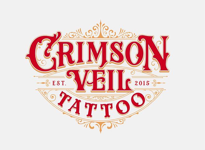 Crimson Veil Tattoo by Tobias Saul