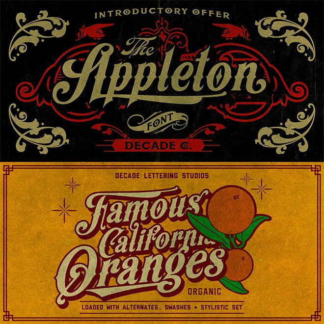 Appleton Font