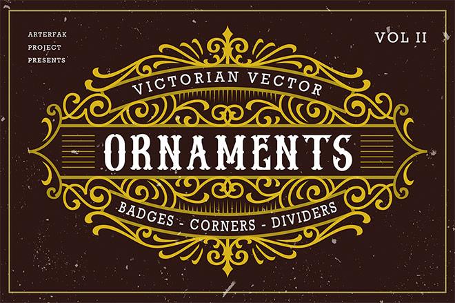 Victorian Vector Ornaments