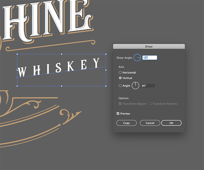 12 - How to Create an Ornate Vintage Logo Design in Illustrator