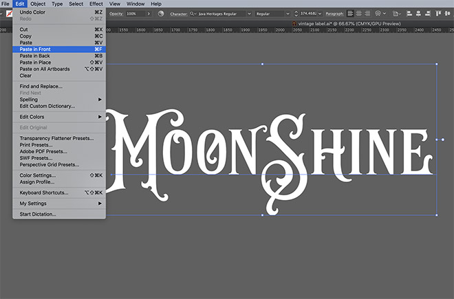 2 - How to Create an Ornate Vintage Logo Design in Illustrator