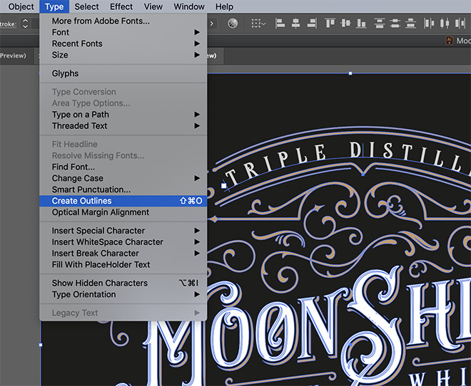 26 - How to Create an Ornate Vintage Logo Design in Illustrator