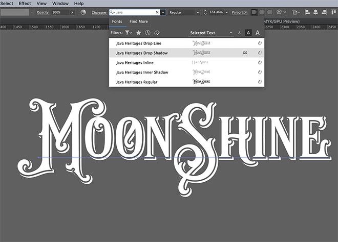 3 - How to Create an Ornate Vintage Logo Design in Illustrator
