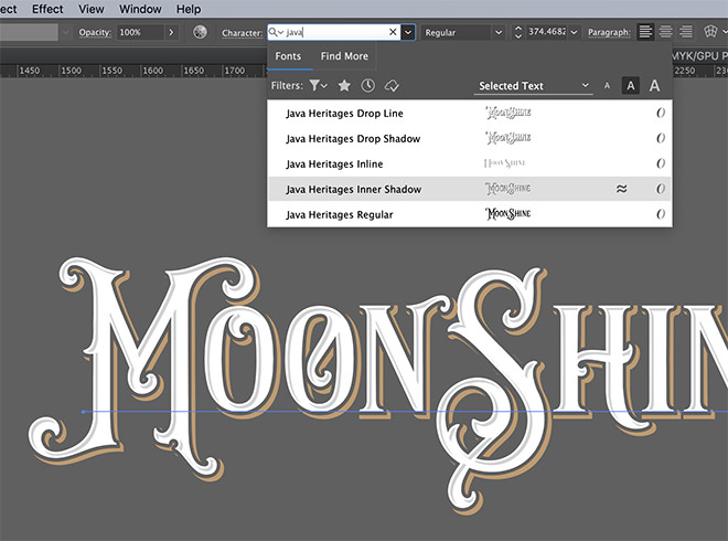4 - How to Create an Ornate Vintage Logo Design in Illustrator